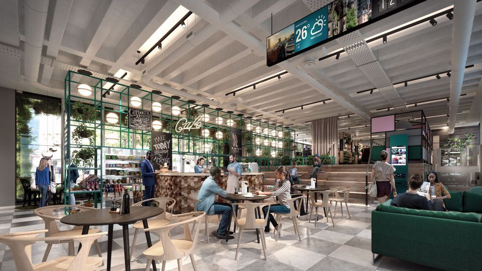 Coffee shop coming 2020