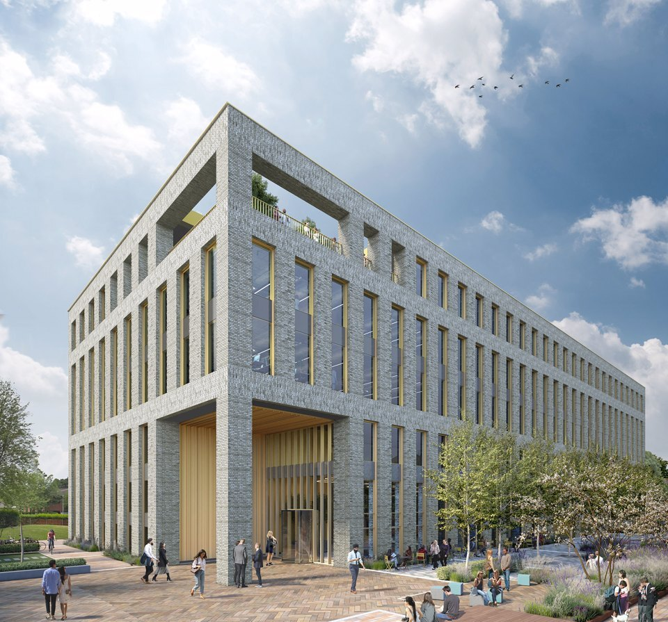 External view of Base at Manchester Science Park